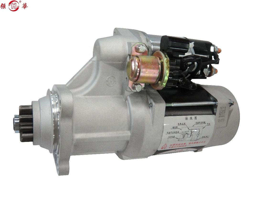 612600091076 612600090409 M105R3040SE WEICHAI WP10 WD615 kick Starter Motor replacement for BOSCH 0001261014