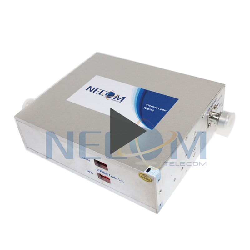 GSM 900/1800MHz Dual Band Cell Phone Signal Booster Work For 500Sqm Cell Booster