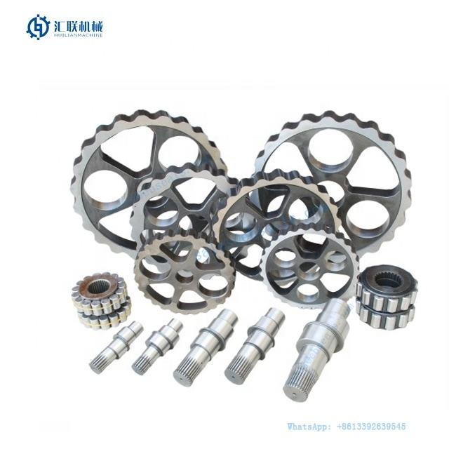 E120 E120B Excavator Travel Motor Gear Crawler Digger Final Drive Reduction Gearbox Track Engine Reducer Gears Spare Part