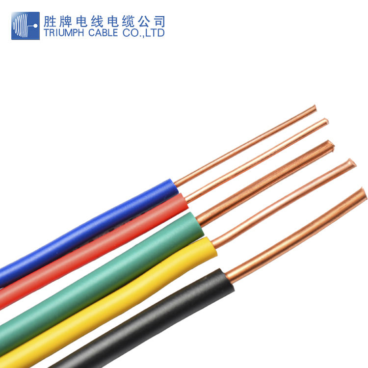 BV THW THHN electrical wire cable 2.5mm 4mm 10mm 16mm single core pvc insulated copper cable wire PVC Coated Electrical Wire