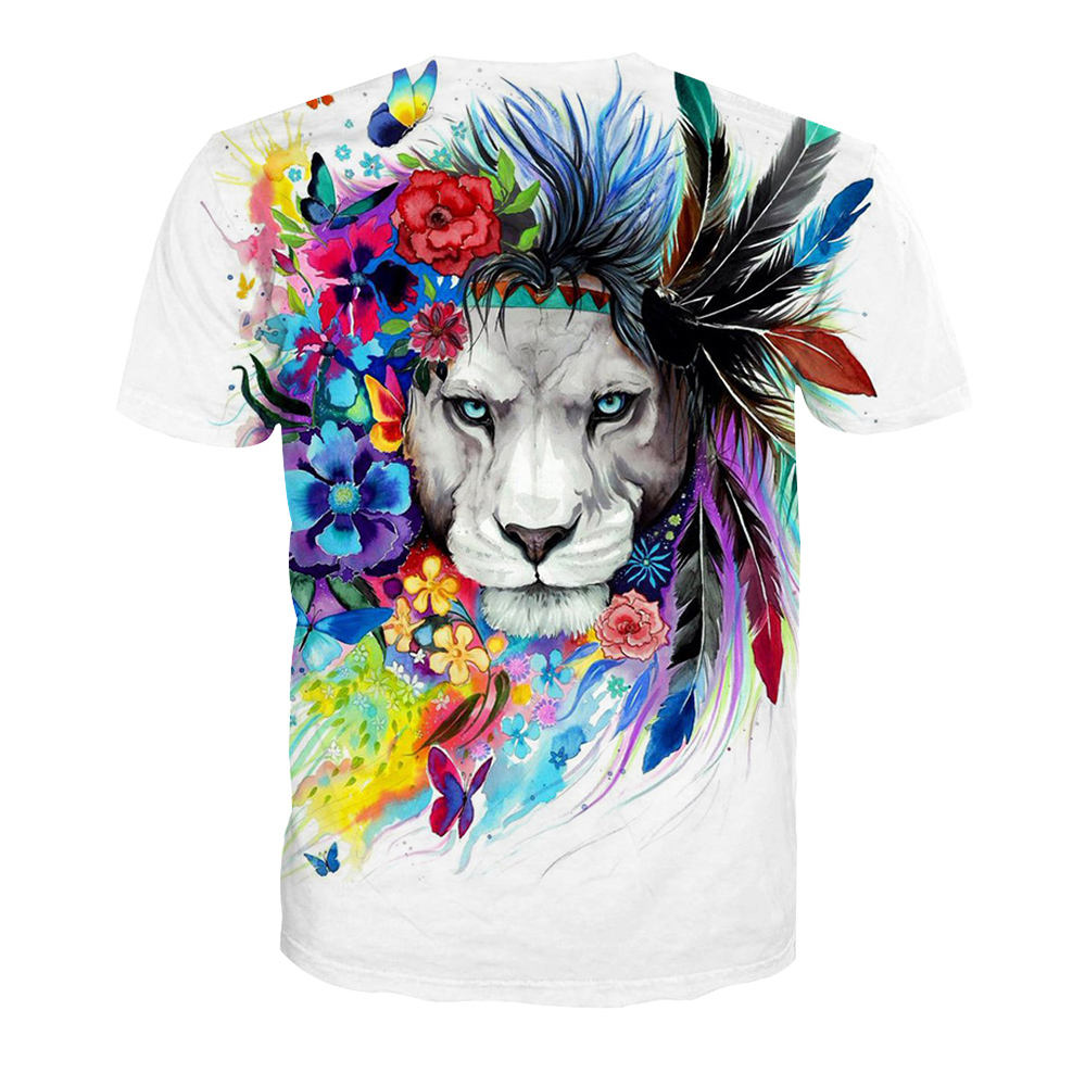 1piece drop shipping custom full 3D printing t shirt China Manufacturing Custom Design Sublimation Printing 3d Men T Shirt