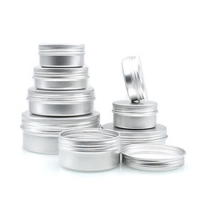 china supplier 60ml aluminum tin 10ml 15ml 30ml 40ml 50ml 4oz aluminum tin 80ml 100ml 120ml 150ml 180ml aluminum tin packaging