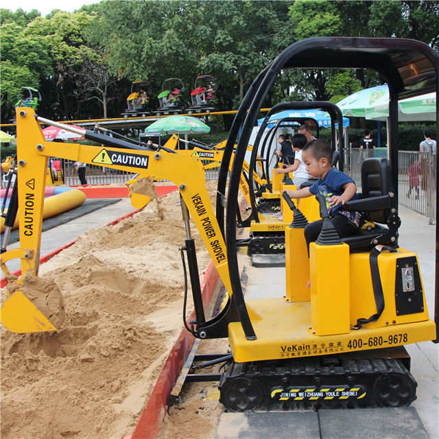 Promotion only 3 days left New design Electric toy children excavator other amusement park product