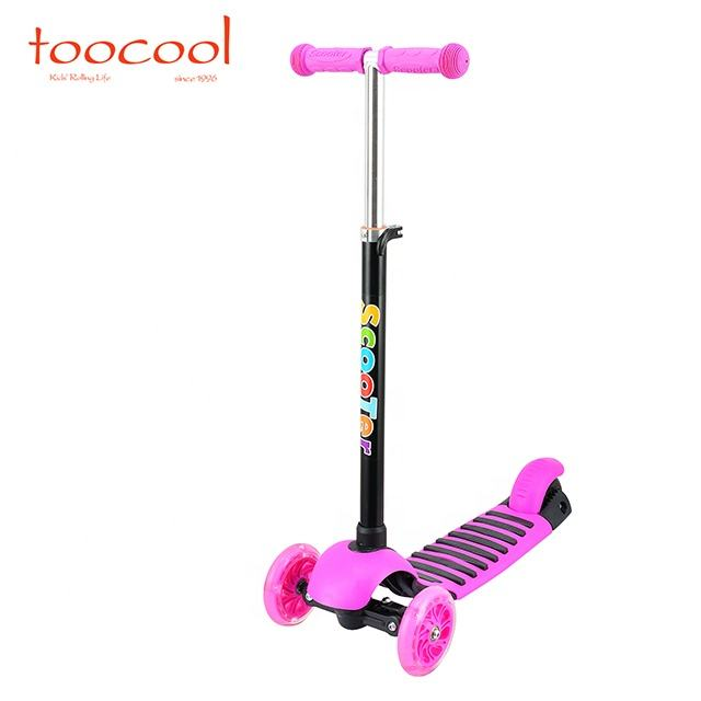 China cheap customized factory PU wheel 3 wheel kids kick scooter