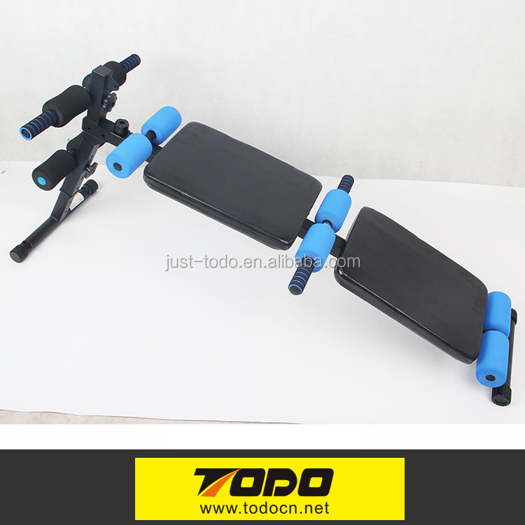 Multifunction 10 foams sit up bench
