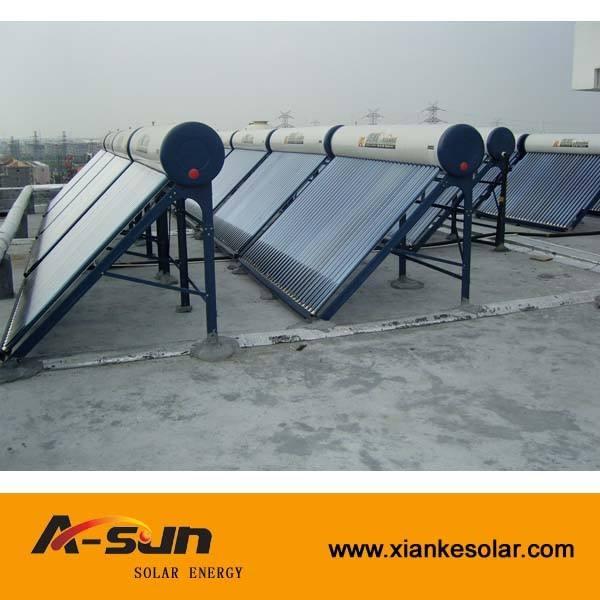 Jiaxing passiva comercial apartamento fácil de parcelamento aquecedor Solar de água