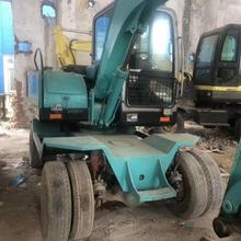 WHEEL EXCAVATOR XINYUAN 75W-9  USED  GOOD PERFORMANCE AND CHEAP