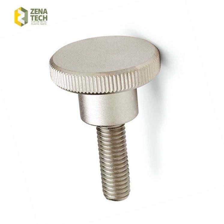 Zinc Plated M3*4.5//6//8//10//12//14 Thumb Screws Phillips Knurled Head Nickel