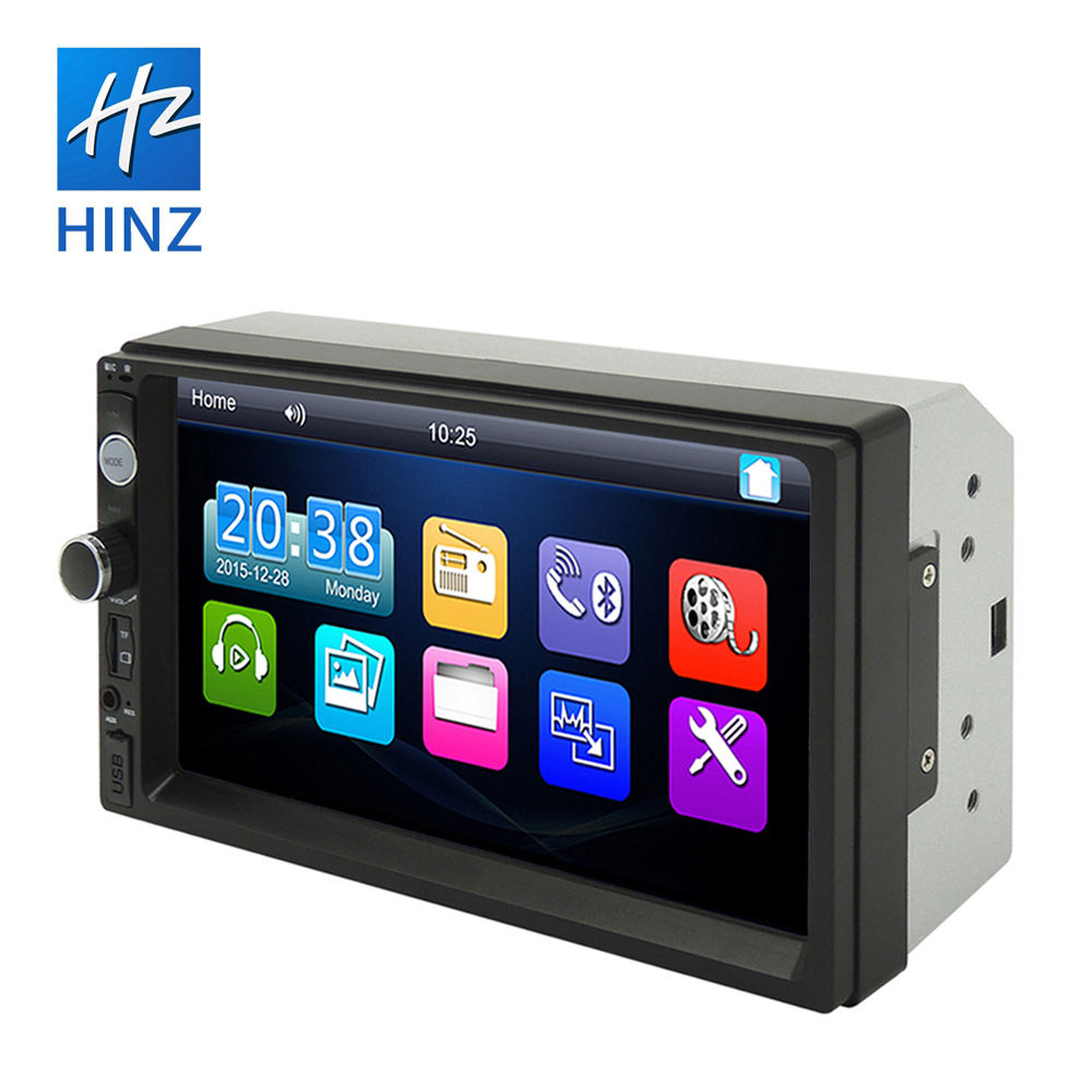 "2020 doppel din 7010b auto multimedia-<span class=keywords><strong>player</strong></span> 7 ""touch screen 800*480 auto stereo mit fm radio bluetooth"