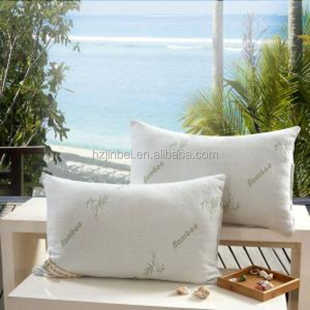 China bamboo pillow manufacture hot sale panada bamboo memory foam pillow