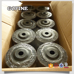 Abrasive flap disc for polishing steel  weld point  weld seam
