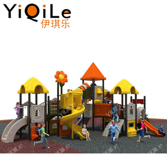 amusement park toys children plastic slides kids outdoor playground