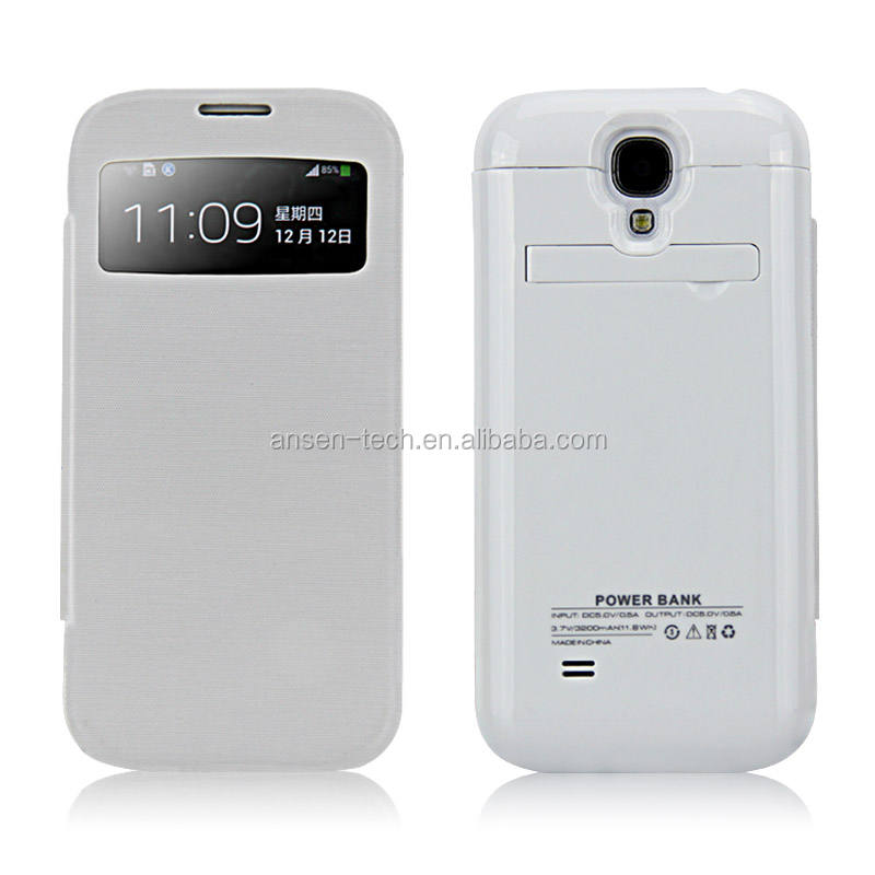 2016 low price used mobile phones battery case rechargeable power snoopy case for samsung galaxy s4