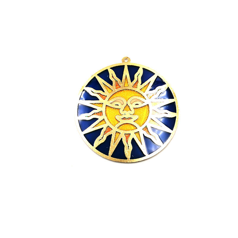 Blue Sun Suncatcher In Yellow Collection A Great Gift For Anyone Colorful Suncatchers Bring a view to life