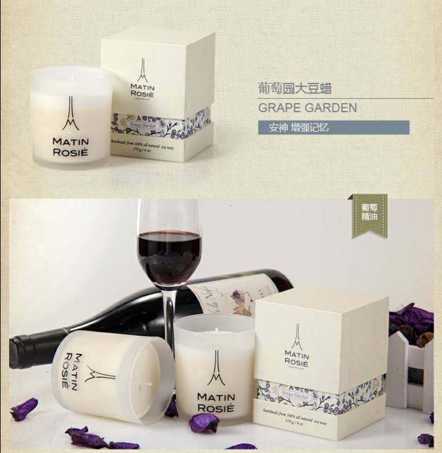 Available to Customize Fragrance candle factory in china, soy candle