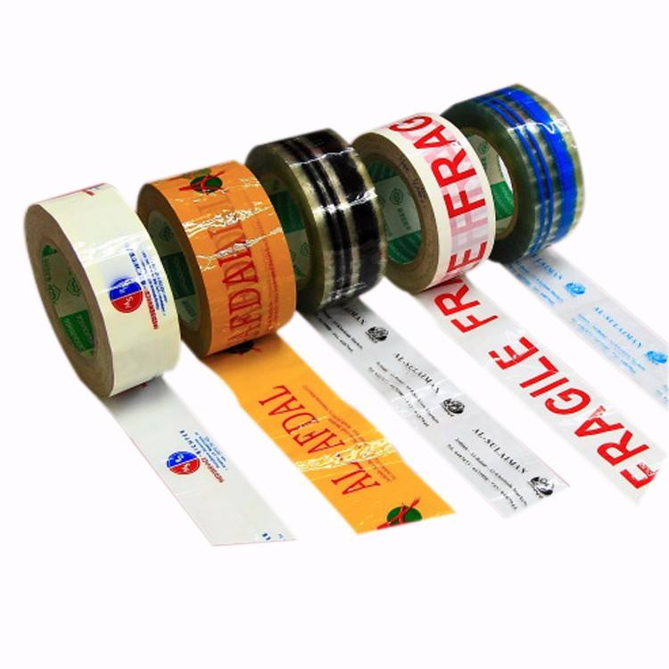 BOPP Custom Brand Acrylic Glue Printed Packing Tape For Box Sealing
