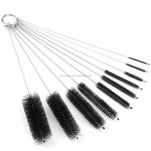 nylon bristle brushes/pipe tube brush/small bottle brush
