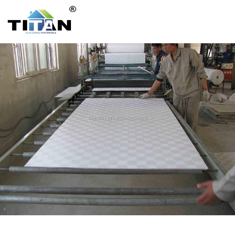 PVC Laminated Gypsum Celling Tiles