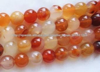 12mm de piedras preciosas <span class=keywords><strong>cornalina</strong></span> redonda natural