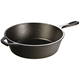 Cast Iron Deep Skillet- Pre-Seasoned- 10.25-inch