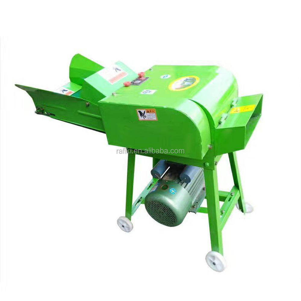 Manufacturer Chaff Cutter Machine/ Small Animal Feed Forage Chopper