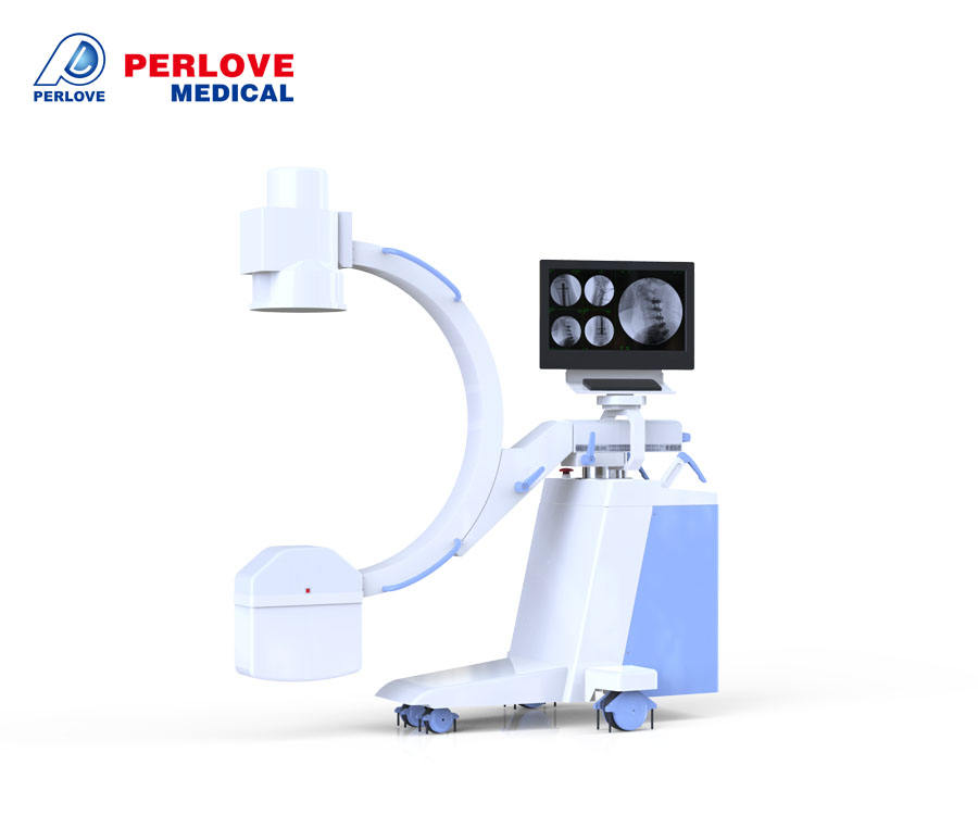Good quality C arm X ray machine China, Portable X RayMachine with C arm PLX112E