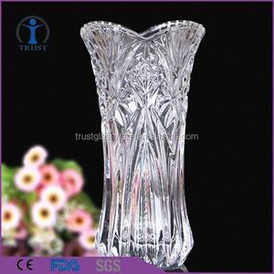 Лучшие продажи ясно Lucky bamboo контракт современный хрустальные и стеклянные вазы