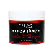 hot sale mens hair gel strong hold styling OEM/ODM private label hair wax pomade