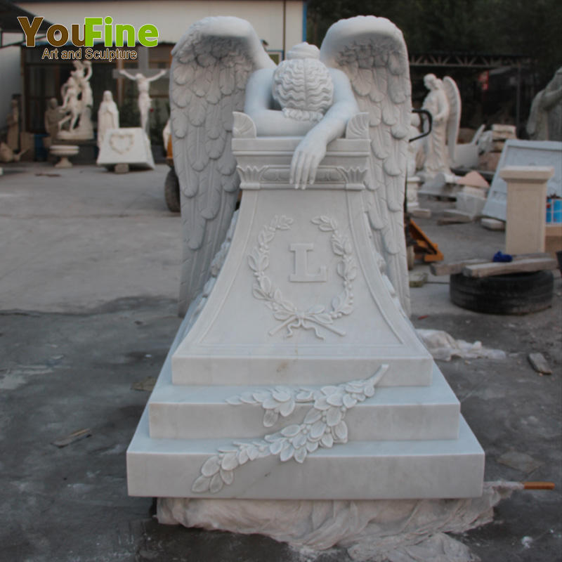 Granite Angel Headstone Marble Tomb Stone