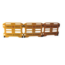 Good Quality yellow Construction crowd control PVC barrier/concert barricade /temporary fence