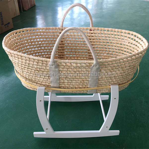 Wholesale high quality baby undressed moses basket