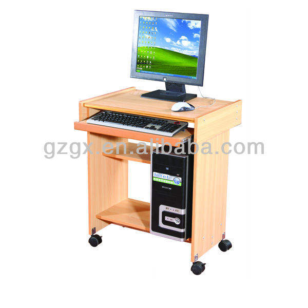GX-150 small size wooden computer table