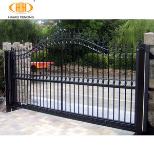 Decorative wrought iron gates simple modern steel wrought iron gate design in the philippines