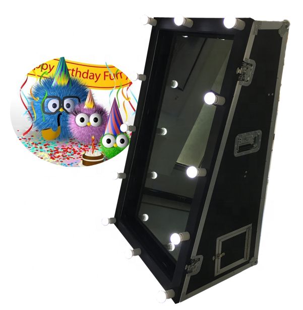 Crystal Mirror Magic Photo Booth, Magic Mirror Price, Mirror Photobooth For Sale