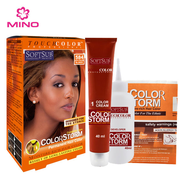 Hot selling Black people styling intense hair color