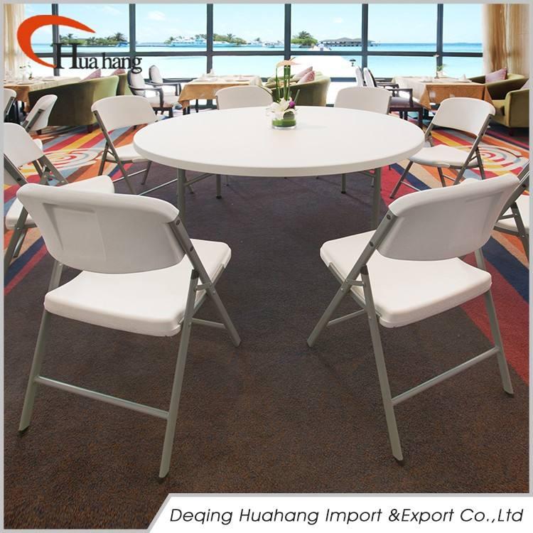 경제 다목적 연회 라운드 접이식 테이블