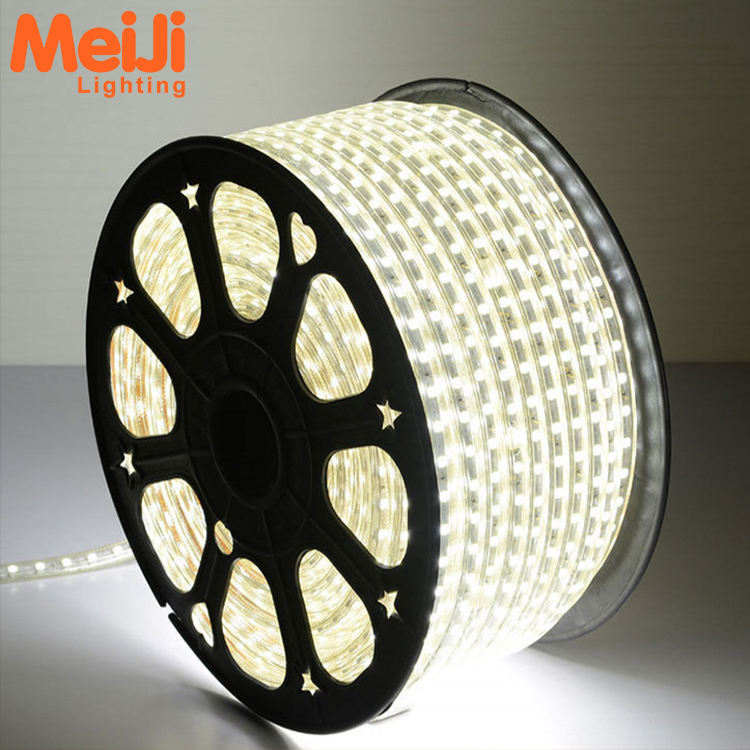 Super luminosità IP65 impermeabile DC110V/220 v SMD 2835 flessibile luce di striscia del led