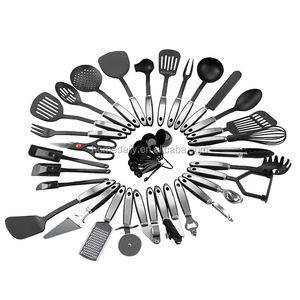 38 Pieces Stainless Steel and Nylon Kitchen Utensils and Gadget Set