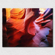 Good gift Modern art picture for home decor abstract painting printed on cotton Canvas , A photo of landscape free shipping