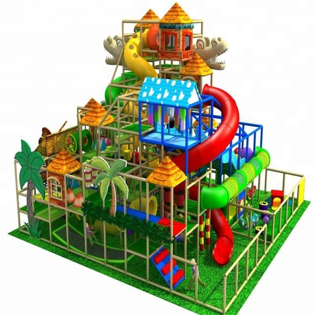 tree house children soft indoor playground, big play house equipment, amusement park toys made in china for sale