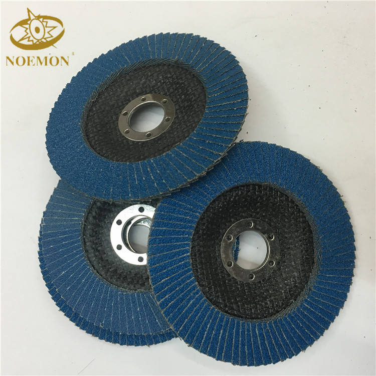 Paint removal high quality stainless steel flap disc for metal
