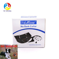 Amazon Noisy dog training collar Pets Training Goods Safe Humane Dog Barking Anti Bark Collar