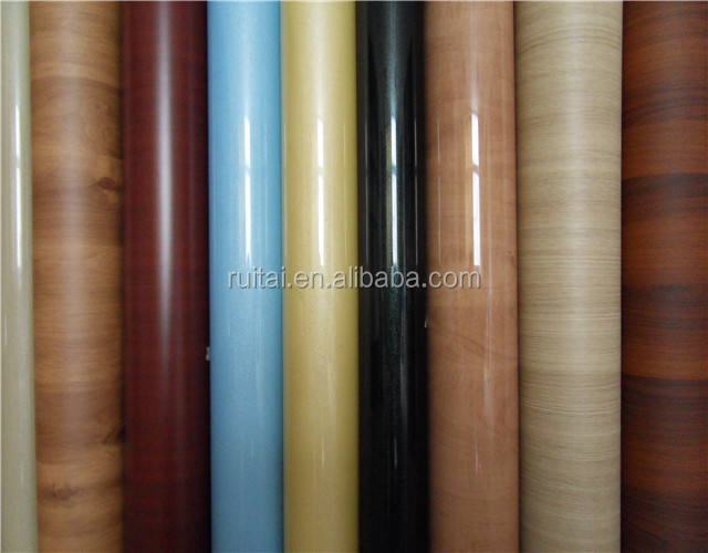 Furniture Decorative Door Membrane Mdf Pvc Foil