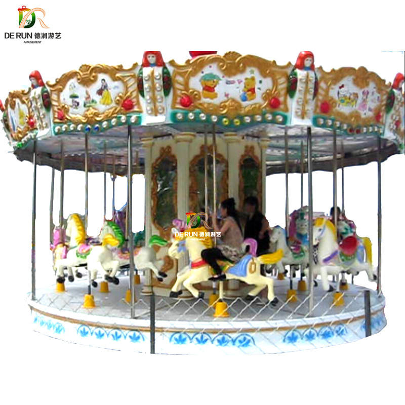 Fashion Cheapest Amusemenet Park Kids Carousel Equipment For Sale