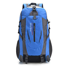 2019 New outdoor waterproof mountaineering bag hiking backpack