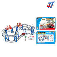 Hot sell railway toy B/O track set racing track toy