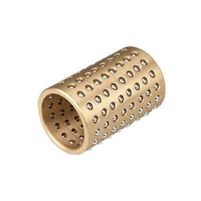 Ball Bush FZ Bronze Ball Retainer Bearing Steel Ball Copper Bushing Brass Ball Bearing Bushes