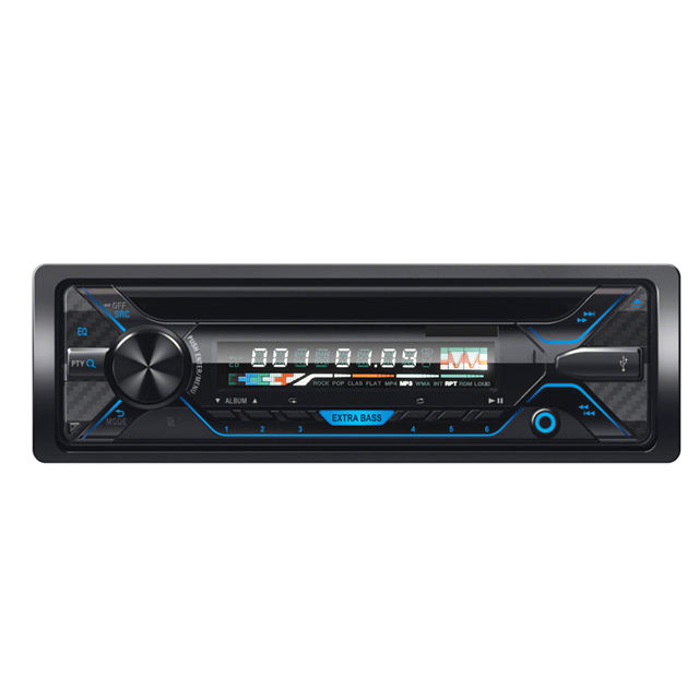 1 din Detachable panel Car DVD player with USB/TF amd Bluetooth