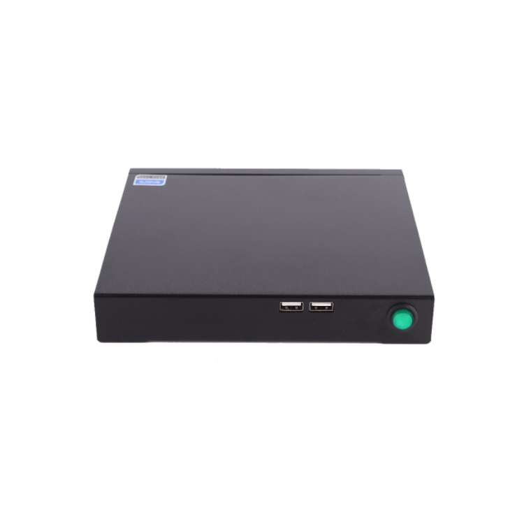 Cheap high quality J1900 fanless industrial mini pc for office