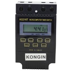 Professional power saver germany KG316T AC 220V LCD Digital Display Microcomputer Timer Control Switch power saver